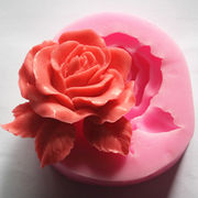 激安☆DIY★手作り石鹸★アロマストーン★シリコンモールド★抜き型★キャンドル★多用★薔薇★花