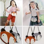 キツネの赤ちゃんレジャーメッセンジャー ショルダーバッグ 女の子 カジュアル ハンドバッグ鞄