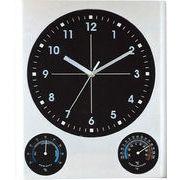 温時計・湿度計付き!ビッグサイズな掛け時計!BIG掛時計