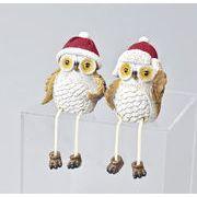 【お仕入れ10000円で送料無料♪♪】【クリスマス】【オウルサンタ】フクロウ雑貨