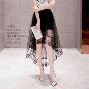 【ノベルティ】【OEM】【自社ブランド対応】【送料無料】エアリーなのセクシー☆変形シースルースカート