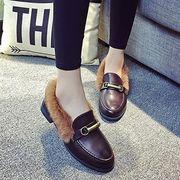 12536536 レトロスタイルファッションペタンコ靴