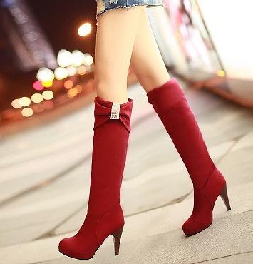 定番★同梱でお買得★靴 ロング ブーツ 大人気 全4色 shoes-0127