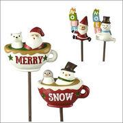 クリスマス ノエルピック サンタ&スノーマン(2種類)×各6個 CM784 CM783