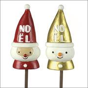 クリスマス ノエルピック サンタ(2種類)×各6個 CM785