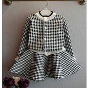 韓国風★キッズファッションセットアップ★キッズおしゃれセーター+スカート