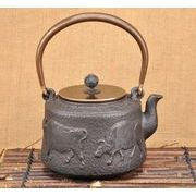 鉄器 急須 伝統工芸 手作り 鉄分補給 鉄瓶 DMT022