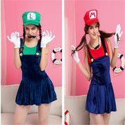 ハロウィン スーパーマリオ Super Mario マリオ/ルイージ コスプレ 衣装 Halloween クリスマス