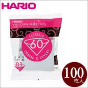 HARIO(ハリオ)V60用ペーパーフィルター01W 100枚 VCF-01-100W