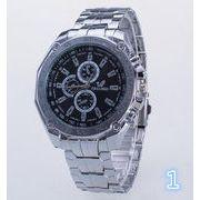 ★NEWファッション★個性的 素敵な腕時計★プレゼント★男性的ウォッチ★3色★