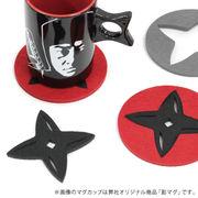 忍者コースター【和雑貨/和風/和物】