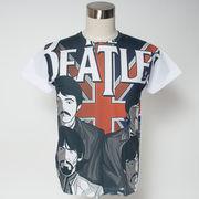 Gibage デザインTシャツ ポップ・ビートルズ
