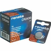 RENATA CR2430 10個 0%Mercury / 電子機器、カーリモコンキーレス、ガイガーカウンター
