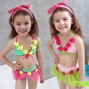 【送料無料】子供水着 キッズ 女の子 子供用 ワンピース 可愛い ギャザー