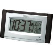 【代引不可】CITIZEN シチズン ソーラー電源電波目覚まし時計