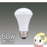LDR8N-H-S6 アイリスオーヤマ LED電球人感センサー付 60W昼白色相当