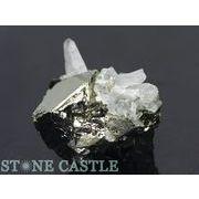 ☆原石一点物☆【原石】パイライト水晶共生鉱 No.32