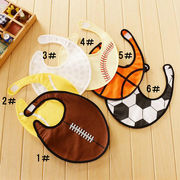 格安☆ベビー☆授乳食事用品◆防水布◆3重◆スタイ◆涎掛け◆よだれかけ◆ボール◆多デザイン