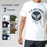 U.S. AIR FORCE ロゴ プリントTシャツ
