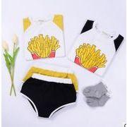 韓国風★流行り新しいスタイル★キッズ服★トップス+パンツ 2点セット