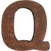 クレエ オブジェ オールドパインレター(大文字) Q