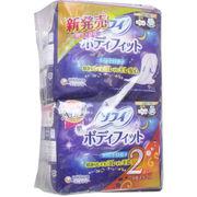 ソフィ ボディフィット スーパーナイトガード 夜用 羽つき 9枚入×2個パック