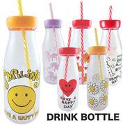 ドリンクボトル 6種 スマイル タンブラー Drink Bottle