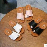 【子供靴】★可愛いデザインの子供靴&サンダル★柔軟なスリッパ★女の子★3色★サイズ26-30