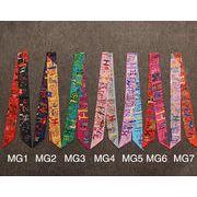 ★多機能★ネクタイ★バッグ用スカーフ★長方形 ★スカーフ