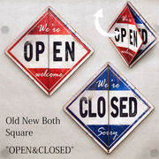 "Old New シリーズ【Both スクエア ""OPEN & CLOSED""】"