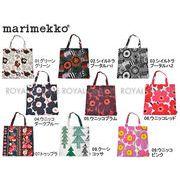 【マリメッコ】 MARIMEKKO トートバッグ 雑貨 フィンランド エコバッグ 花柄 カラフル 全9色