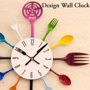 【壁掛時計】デザインウォールクロック【キッチン】