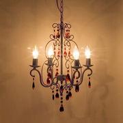 LED電球対応★ 4灯シャンデリア★ロメオ ラスティーブラウン♪