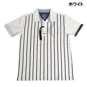 【2017春夏】カノコ ストライププリント ポロシャツ
