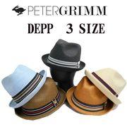 【春夏新作】3サイズ展開!PETERGRIMM DEPP  13337