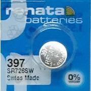 レナータ 315(SR726SW)コイン型ボタン電池/酸化銀一次電池/レナタ