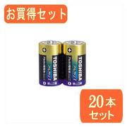TOSHIBA TOSHIBA(東芝)単1アルカリ電池 2本パック LR20AG 2KPx