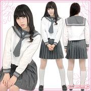 ■送料無料■ 東京成徳大学高等学校旧女子部 夏服 サイズ:M/BIG