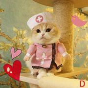 ペット用品 ハロウィン ドッグウェア コスチューム 猫服 犬服 変身服 コスプレ服 出掛け 散歩