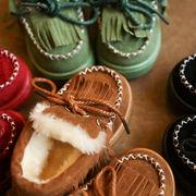 秋冬 新しいデザイン 児童 革靴 ピーズ靴 女児 T-ストラップ プリンセスの靴 赤ちゃ