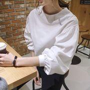 トップス ブラウス  シャツ   シンプル Tシャツ  可愛い おしゃれ着痩せ 無地