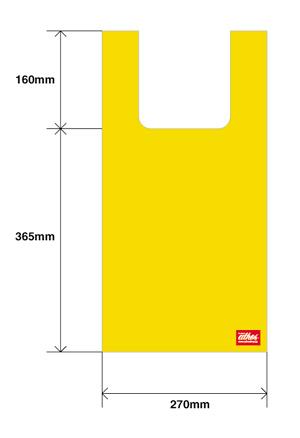 エコバッグのサイズ詳細