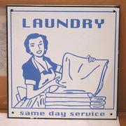 """オールドファームハウス サインボード""""Laundry(ランドリー)"""""""