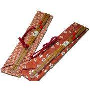 クリア箸キャップ&箸袋&マイ箸セット