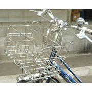 折畳み自転車用フロントバスケット SOT-20(ステンレス) [在庫有]