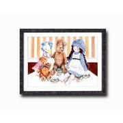 アンジェラ・シマンドソンDX絵画額 「ピクニック」