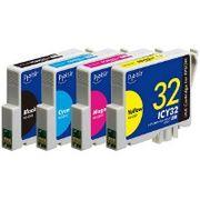プレジール  エプソンIC4CL32対応汎用インクカートリッジ PLE-E324P