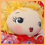 【文化人形】ピンク/Mサイズ