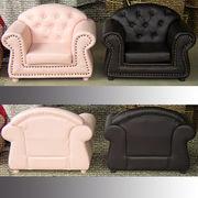 輸入家具:子供ソファ:プリンセス:1人掛け:3色