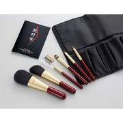熊野化粧筆セット 筆の心 ブラシ専用ケース付き KFi-R156